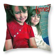 Proverbs 17 17 Throw Pillow