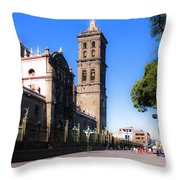 Puebla Mexico 4 Throw Pillow
