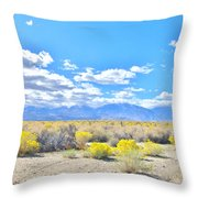 Pure Country Throw Pillow