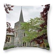 Queenstown, New Zealand Throw Pillow
