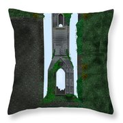 Quint Arches In Ireland Throw Pillow