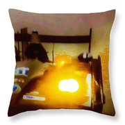 Masters Of Speed Throw Pillow