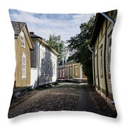 Rauma Old Town Throw Pillow