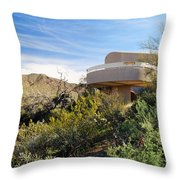 Red Hills Visitor Center Throw Pillow