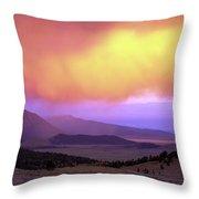 Red Rock Pass Throw Pillow