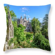 Regaleira Palace Sintra Throw Pillow