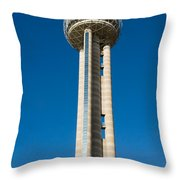 Reunion Tower - Dallas Texas Throw Pillow