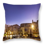 Reus Triptych, Spain Throw Pillow