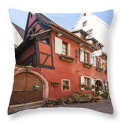 Riquewihr France Throw Pillow