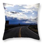 Road 2 Throw Pillow