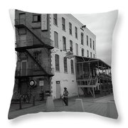 Rochester New York - Jimmy Mac's Bar Throw Pillow