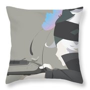 Rokka Braves Of The Six Flowers Throw Pillow
