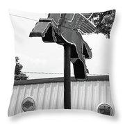 Route 66 - Rolla Missouri Throw Pillow