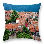 Rovinj - Croatia Throw Pillow