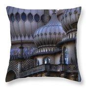 Royal Pavilion Brighton Throw Pillow