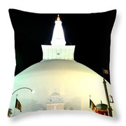 Ruwanwelisaya Pagoda Throw Pillow