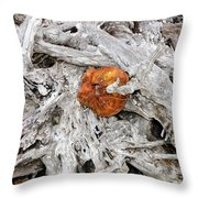 A Golden Find Throw Pillow