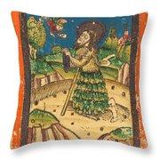 Saint Onuphrius Throw Pillow