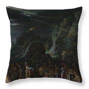 Saint Paul On Malta Throw Pillow