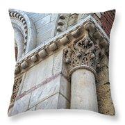 Saint Sernin Basilica Architectural Detail Throw Pillow