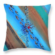 Santa Fe Exposure Throw Pillow