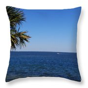 Sarasota Bay Throw Pillow