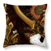 Sea Anemones, 1860 Throw Pillow