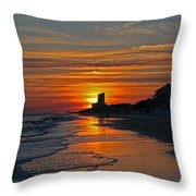 Seagrove Beach Throw Pillow