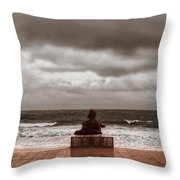 Seascape Throw Pillow