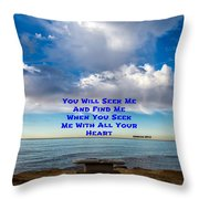 Seek And Find Throw Pillow