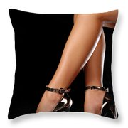 Sexy Shoes Throw Pillow