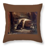 Shepherds Chief Mourner Throw Pillow