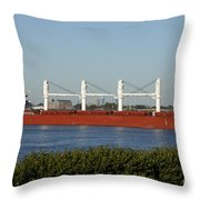 Shipping - New Orleans Louisiana Throw Pillow