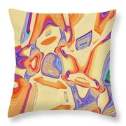 Shopping With Sally Throw Pillow
