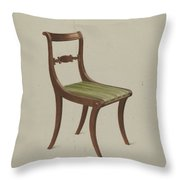 Side Chair Throw Pillow