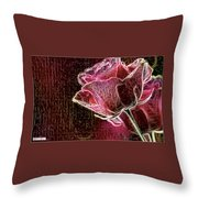 Silent Places Throw Pillow