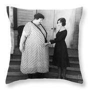 Silent Still: Weight Throw Pillow