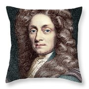 Sir Christopher Wren, Architect Throw Pillow