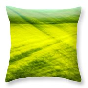 Skagit Valley Daffodils Throw Pillow