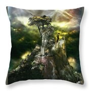 Stand Alone Throw Pillow
