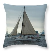 Skipjack Throw Pillow