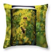 Small Insect Throw Pillow