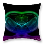 smoke XIX Throw Pillow