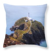 South Stack - Wales Throw Pillow