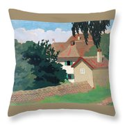 Souvenir De Romanel Throw Pillow