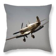 Spitfire Bm597 Jh-c Throw Pillow