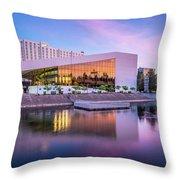 Spokane Washington City Skyline And Convention Center Throw Pillow