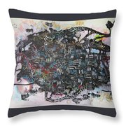 Spring Fever6 Throw Pillow