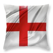 St George's Cross Throw Pillow