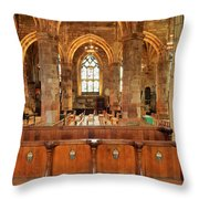 St Giles' Cathedral, Edinburgh Throw Pillow